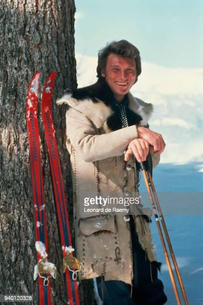 1960's --- Johnny Hallyday During Winter Sport Season