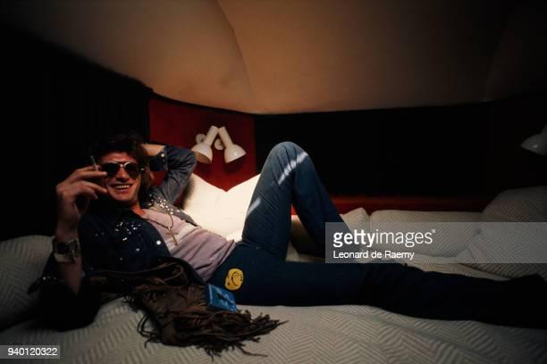 1970's --- Johnny Hallyday on Tour