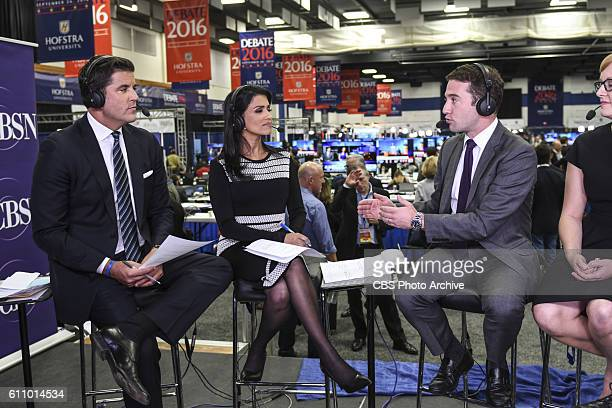 CBSN's Josh Elliott and Reena Ninan interview POLITICO's Jake Sherman during live coverage from Hofstra University for the first presidential debate...