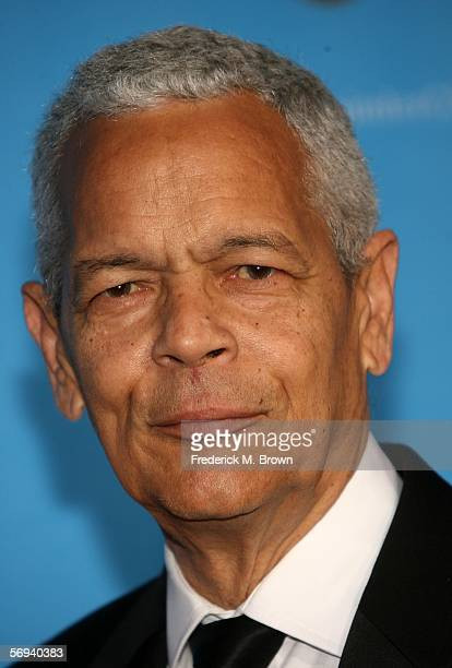 S Julian Bond arrives at the 37th Annual NAACP Image Awards at the Shrine Auditorium on February 25, 2006 in Los Angeles, California.