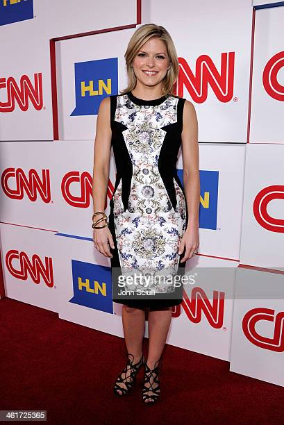 CCN's Kate Bolduan attends the 2014 TCA Winter Press Tour CNN AfterParty on January 10 2014 in Pasadena California