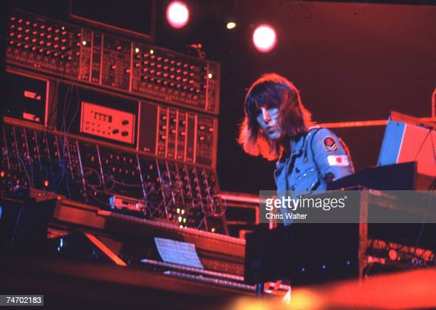S Keith Emerson Emerson Lake & Palmer at the Music File Photos 1970's in London, United Kingdom.