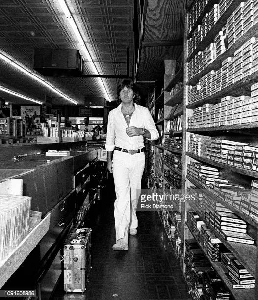 S Keith Emerson of Emerson, Lake and Palmer at Peaches Records & Tapes in Atlanta Georgia June 23, 1977