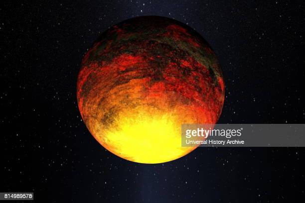 NASA's Kepler mission confirmed the discovery of its first rocky planet named Kepler10b Measuring 14 times the size of Earth it is the smallest...