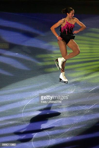 USA's Kimmie Meissner performs during the gala skating event of the Bompard Trophy at Palais omnisports Paris Bercy