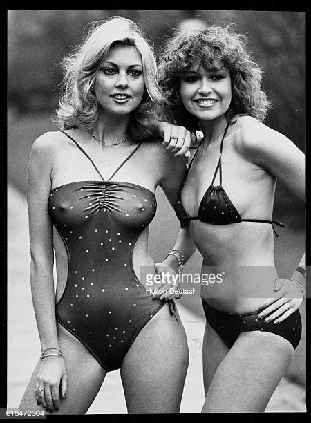 1980's Ladies' Swimwear