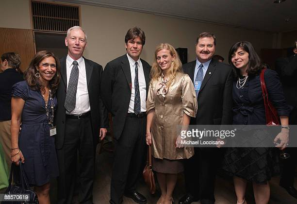HBO's Lana Iny Film Subject First Sargeant William Vonzehle Director Greg Barker Film Subject Carolina Larriera and Interpol Executive Committee...