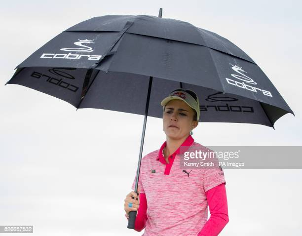 USA's Lexi Thompson makes her way to the 8th green during day three of the 2017 Ricoh Women's British Open at Kingsbarns Golf Links St Andrews