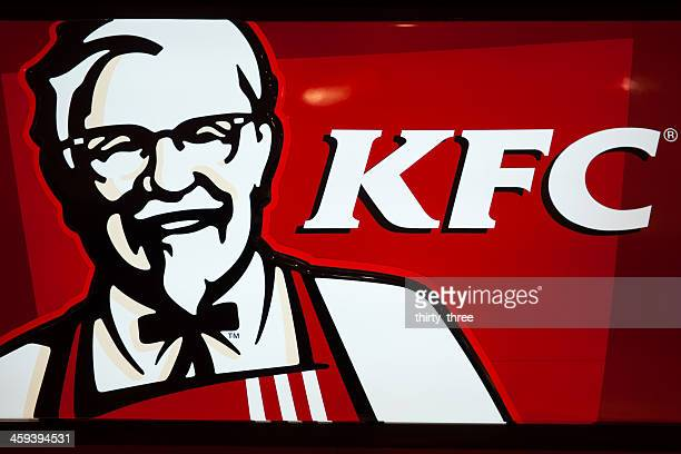 kfc's lightbox - kentucky fried chicken stock photos and pictures