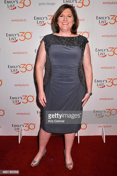 EMILY's List Executive Director Jess O'Connell attends EMILY's List 30th Anniversary Gala at Washington Hilton on March 3 2015 in Washington DC