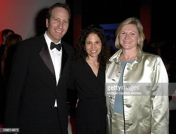 ABC's Lloyd Braun and wife Lauren with executive Zenia Mucha