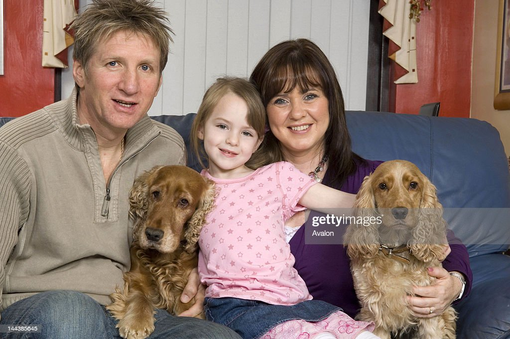 ITV's Loose Women presenter Coleen Nolan pictured at home with Fiancee Ray Fensome and Daughte Ciara; 1st April 2007; Job: 22114; Ref: ZB3000_166627_001OOO / L.Lawry; Exclusive : News Photo