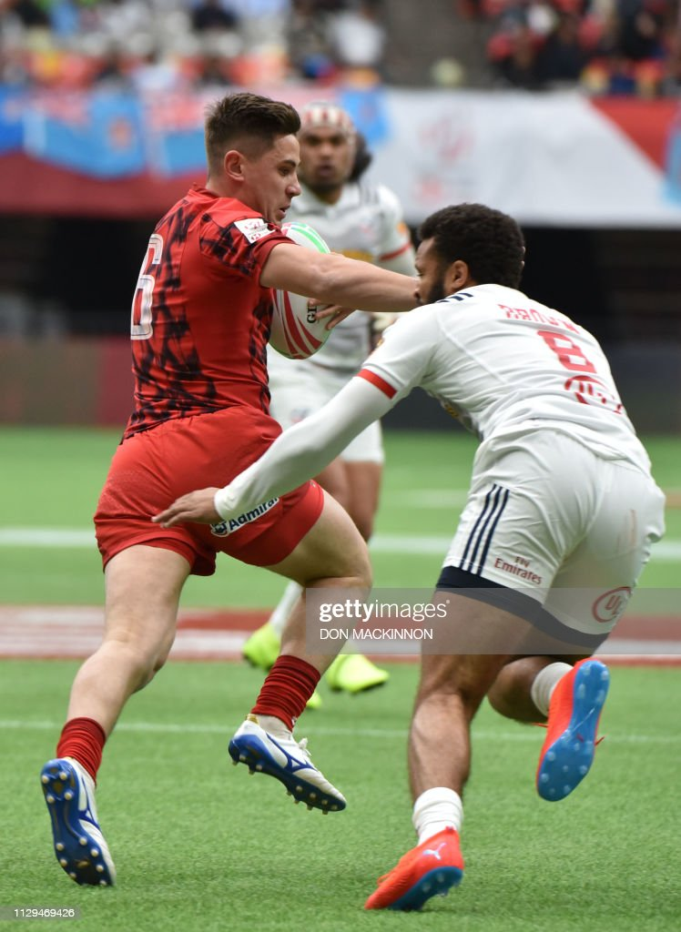 RUGBY-CANADA-SEVENS : News Photo