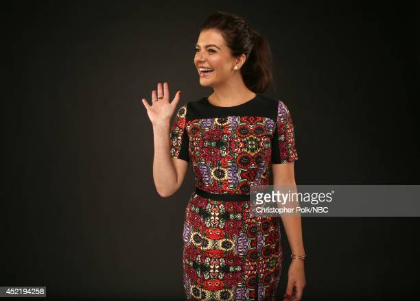 NBC's Marry Me actress Casey Wilson poses for a portrait during the NBCUniversal Press Tour at the Beverly Hilton on July 13 2014 in Beverly Hills...