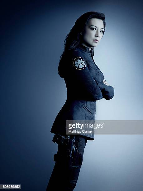 S AGENTS OF SHIELD ABC's 'Marvel's Agents of SHIELD stars MingNa Wen as Melinda May