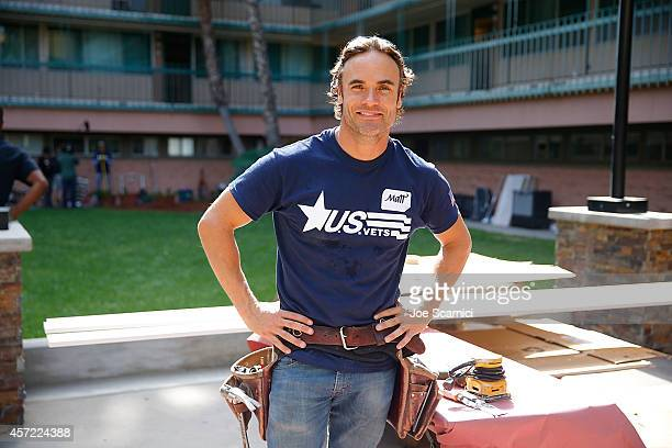 HGTV's Matt Blashaw attends as DIRECTV partners with Scripps Networks Interactive on Special Veterans Project at on October 14 2014 in Inglewood...