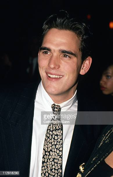 NEW YORK LATE 80's Matt Dillon at an event in the late 1980s in New York City New York
