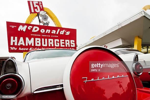 1950 年代のマクドナルド