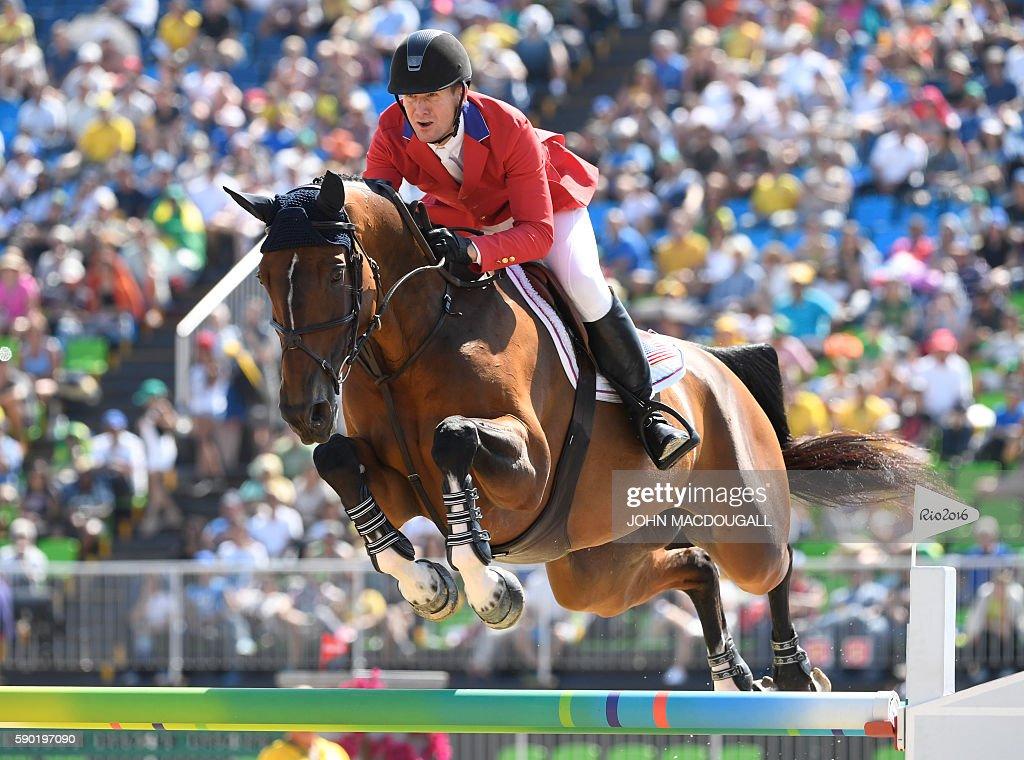 EQUESTRIAN-OLY-2016-RIO : News Photo
