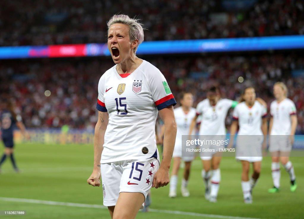France v USA - FIFA Women's World Cup 2019 - Quarter Final - Parc des Princes : News Photo