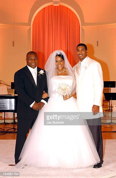 NBA's Miami Heat star Jimmy Jackson wed Shawnee Simms an entertainment manager Mike Tyson gave away the bride at the ceremony in Atlanta Georgia