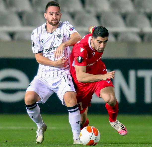 CYP: AC Omonoia v PAOK: Group E - UEFA Europa League