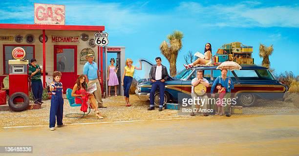 FAMILY ABC's 'Modern Family' stars Rico Rodriguez as Manny Nolan Gould as Luke Sofía Vergara as Gloria Ed O'Neill as Jay Sarah Hyland as Haley Julie...