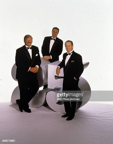 ABC SPORTS 'ABC's Monday Night Football' 25th Anniversary Gallery 4/12/94 Dan Dierdorf Al Michaels Frank Gifford Mandatory credit ABC