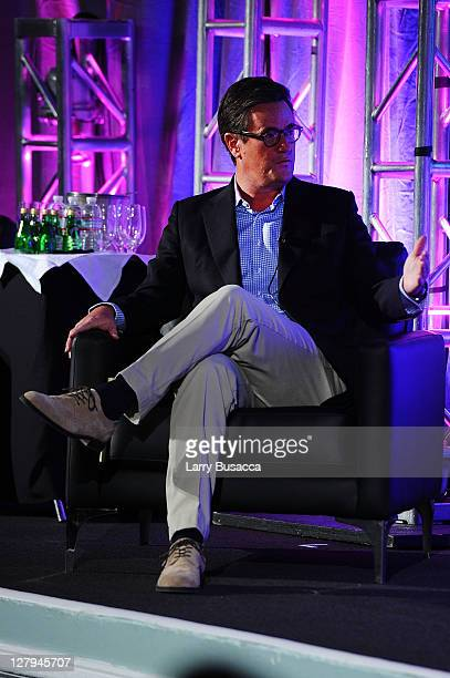 MSNBC's Morning Joe host Joe Scarborough speaks at 2011 WICT Leadership Conference and Touchstones Luncheon at New York Hilton and Towers on October...