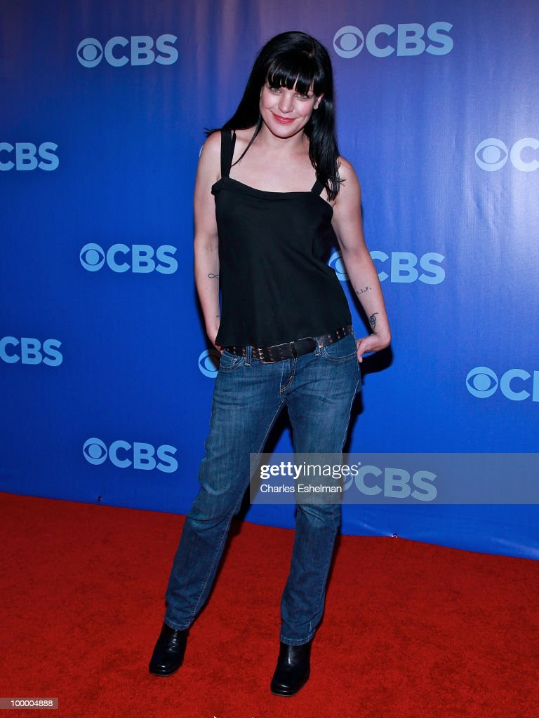 CBS's 'NCIS' actress Pauley Perrette attends the 2010 CBS UpFront at Damrosch Park, Lincoln Center on May 19, 2010 in New York City.
