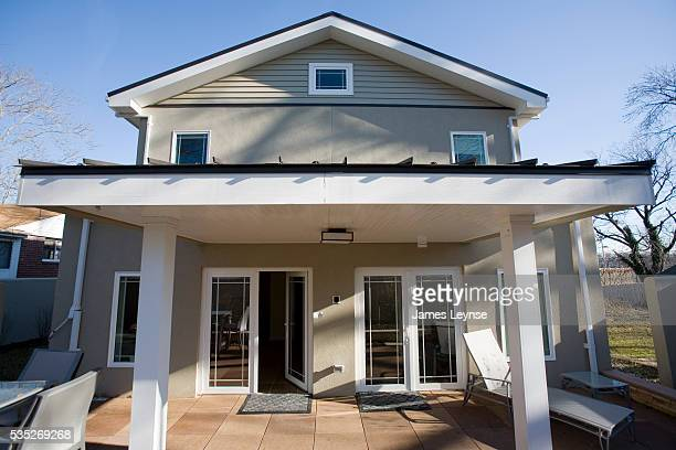BASF's near zero energy home in Patterson New Jersey This demonstration home uses 80% less energy than the average American home It has innovations...
