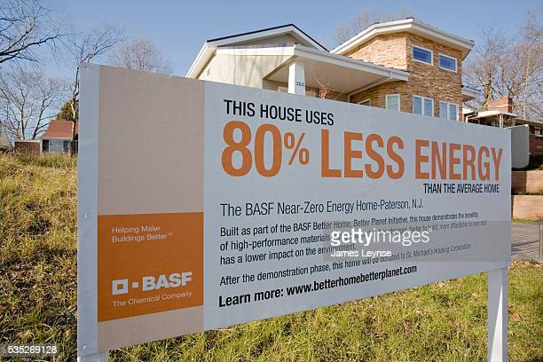 BASF's near zero energy home in Patterson Nw Jersey This demonstration home uses 80% less energy than the average American home It has innovations...