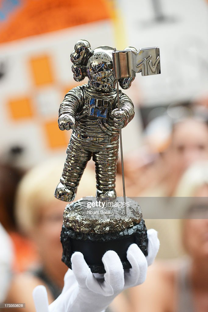 MTV's new Moonman award presented at NBC's TODAY Show on July 12, 2013 in New York, New York.