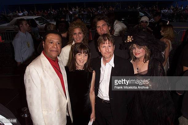 MTV's original VJS JJ Jackson Martha Quinn Alan Hunter Mark Goodman and Nina Blackwood arriving for the MTV 20th Anniversary party MTV20 Live and...