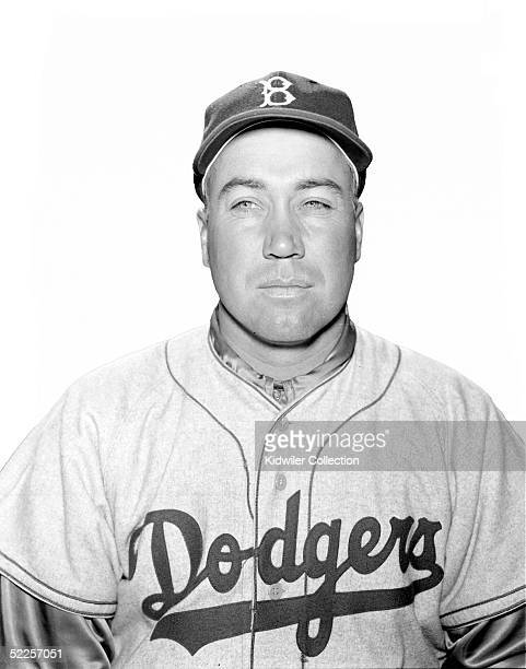 BEACH FL 1950's Outfielder Duke Snider of the Brooklyn Dodgers poses for a portrait during Spring Training circa 1950's in Vero Beach Florida Snider...