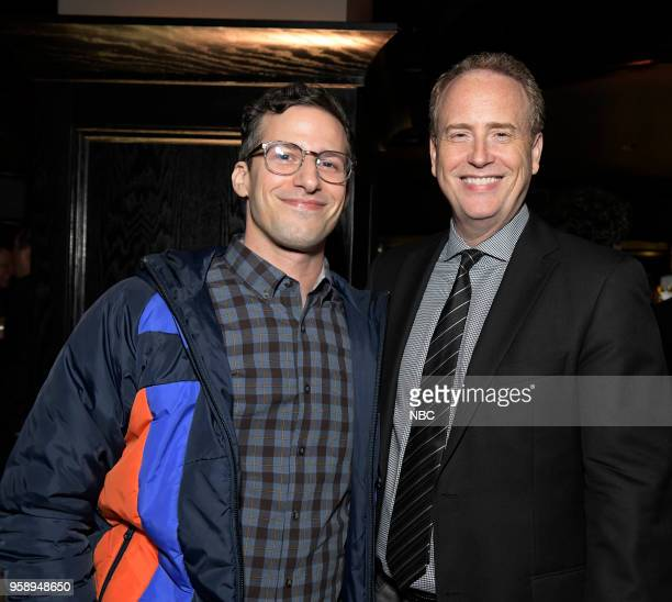 EVENTS NBC's Party at Del Posto Celebrating NBC's New Season Pictured Andy Samberg 'Brooklyn NineNine' on NBC Robert Greenblatt Chairman NBC...