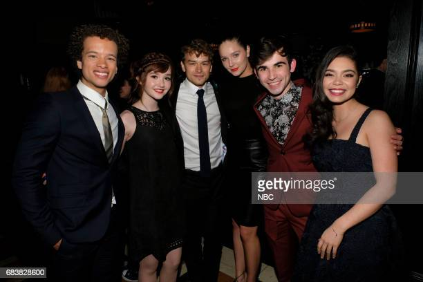EVENTS NBC's Party at Del Posto Celebrating NBC's New Season Pictured Damon J Gillespie Taylor Richardson Rarmian Newton Amy Forsyth Ted Sutherland...