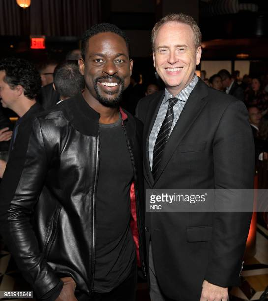 EVENTS NBC's Party at Del Posto Celebrating NBC's New Season Pictured Sterling K Brown 'This Is Us' on NBC Robert Greenblatt Chairman NBC...