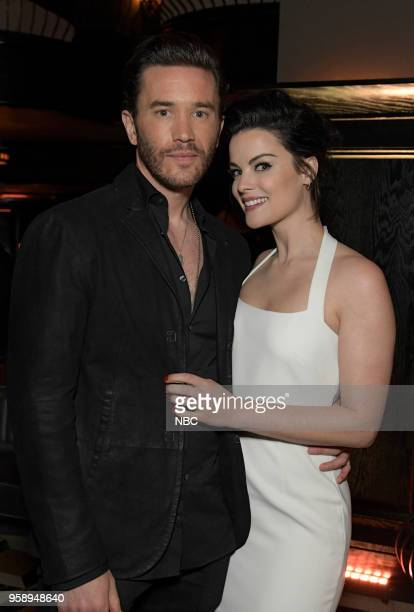 EVENTS NBC's Party at Del Posto Celebrating NBC's New Season Pictured Tommy Pelphrey Jaimie Alexander 'Blindspot' on NBC