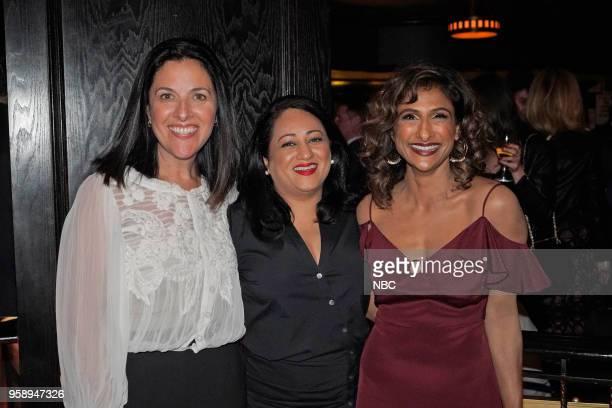 EVENTS NBC's Party at Del Posto Celebrating NBC's New Season Pictured Tracey Pakosta CoPresident Scripted Programming NBC Aseem Batra Executive...