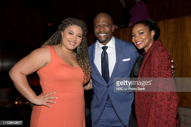 EVENTS NBC's Party at THE POOL Celebrating NBC's New Season Pictured Azriel Crews Terry Crews Brooklyn NineNine on NBC Gabrielle Union