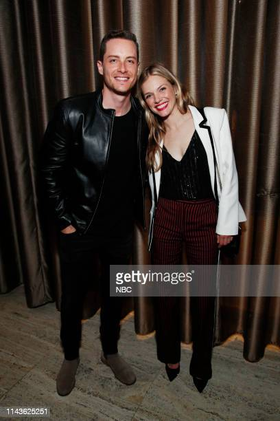 EVENTS NBC's Party at THE POOL Celebrating NBC's New Season Pictured Jesse Lee Soffer Tracy Spiridakos Chicago PD on NBC
