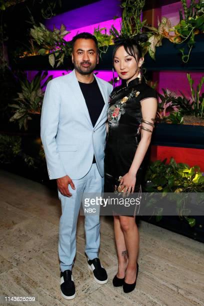 EVENTS NBC's Party at THE POOL Celebrating NBC's New Season Pictured Kal Penn Poppy Liu Sunnyside on NBC