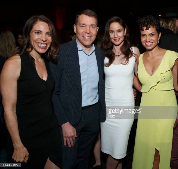 EVENTS NBC's Party at THE POOL Celebrating NBC's New Season Pictured Linda Rottenberg Bruce Feiler Sarah Wayne Callies Michelle Weaver Council of...