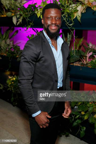 EVENTS NBC's Party at THE POOL Celebrating NBC's New Season Pictured Michael Luwoye Bluff City Law on NBC