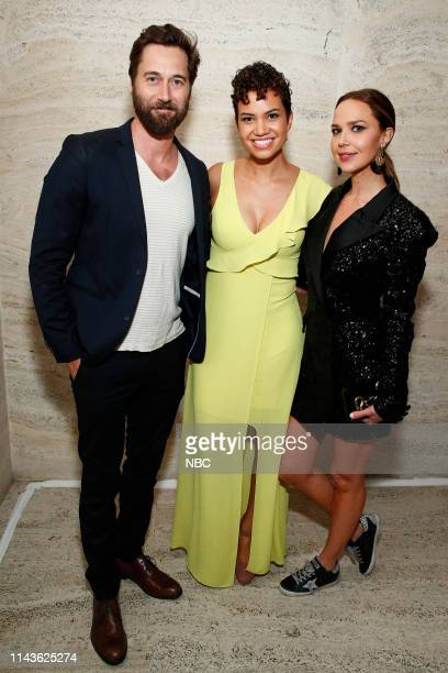 EVENTS NBC's Party at THE POOL Celebrating NBC's New Season Pictured Ryan Eggold New Amsterdam on NBC Michelle Weaver Council of Dads on NBC Arielle...