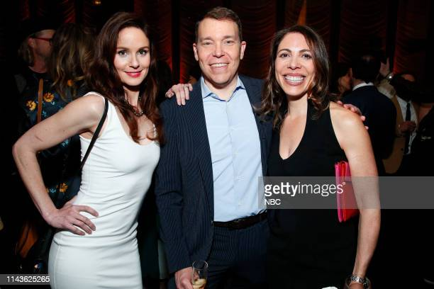 EVENTS NBC's Party at THE POOL Celebrating NBC's New Season Pictured Sarah Wayne Callies Council of Dads on NBC Bruce Feiler Linda Rottenberg