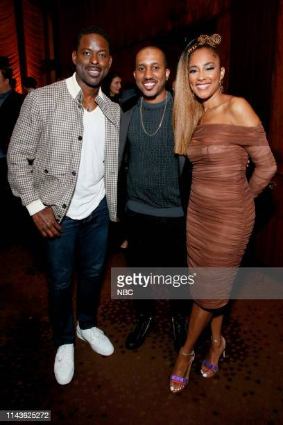 """S Party at THE POOL Celebrating NBC's New Season -- Pictured: Sterling K. Brown, """"This Is Us"""" on NBC; Chris Redd, """"Saturday Night Live"""" on NBC;..."""
