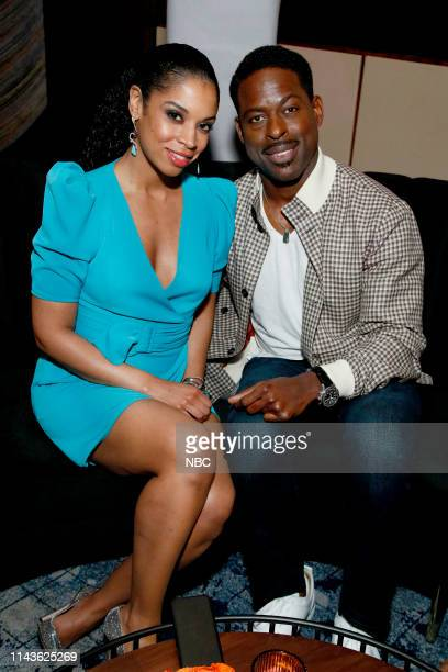 """S Party at THE POOL Celebrating NBC's New Season -- Pictured: Susan Kelechi Watson, Sterling K. Brown, """"This Is Us"""" on NBC --"""