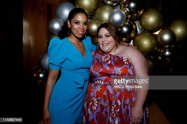 EVENTS NBC's Party at THE POOL Celebrating NBC's New Season Pictured Susan Kelechi Watson Chrissy Metz This Is Us on NBC